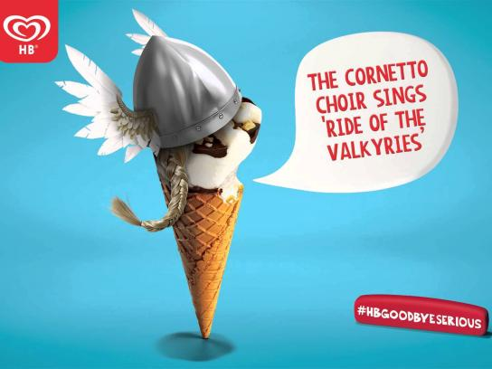 Cornetto Audio Ad -  Goodbye Serious - Valkyries