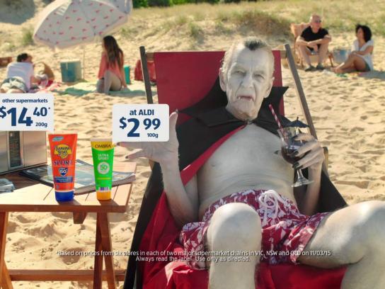 ALDI Film Ad -  Vampire
