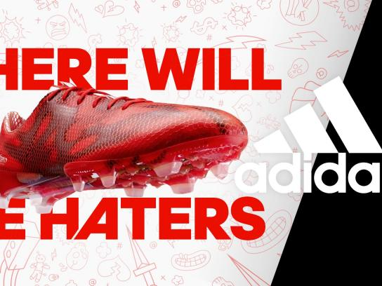 Adidas Digital Ad -  There will be haters