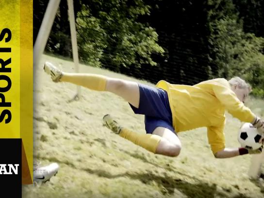 Mercedes Digital Ad - Extreme Alpine Soccer