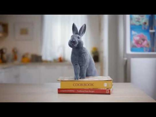 Blue Bunny Film Ad - Give In To The Bunny - Hands Full Version
