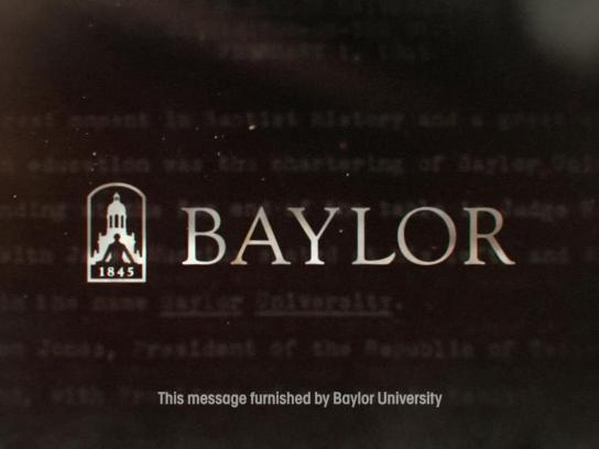 Baylor University Film Ad -  Mission