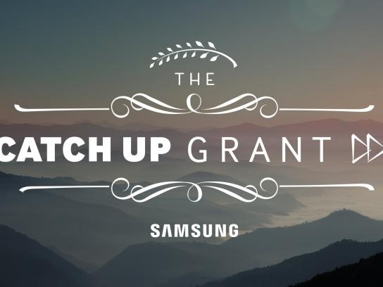 Samsung Film Ad -  The catch up grant