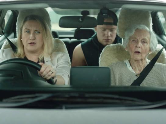 Western Australian Office of Road Safety Film Ad - Time with mum - gran
