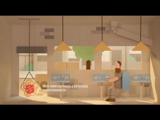 Salvation Army Film Ad -  Food