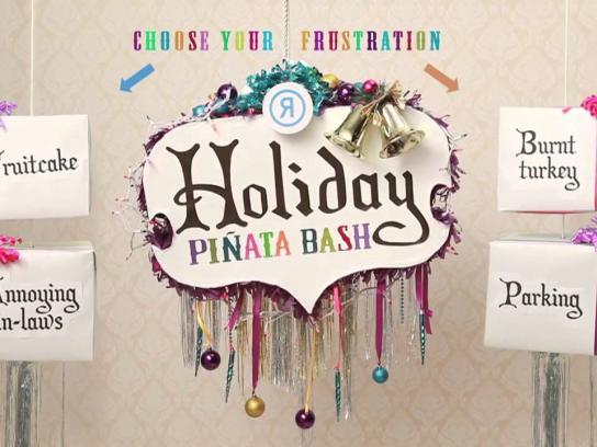 Rethink Digital Ad -  Holiday Piñata Bash