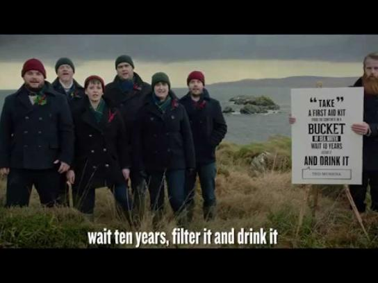 Laphroaig Digital Ad -  Christmas Choir - Chapter 1