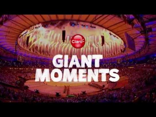 Claro Digital Ad - RIO 2016 Giant Moments