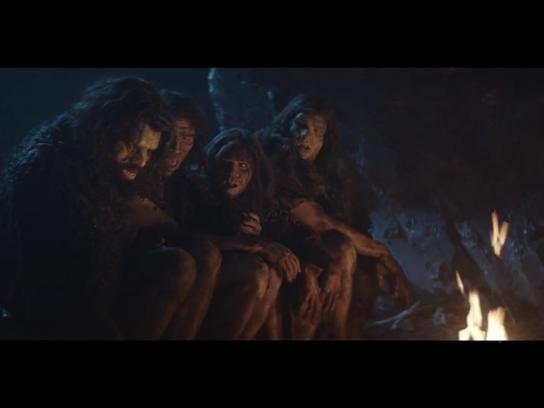 Black Film Ad - Caveman