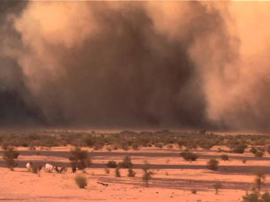 National Geographic Film Ad -  Sandstorm