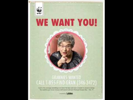 WWF Audio Ad -  Granny Call Centre