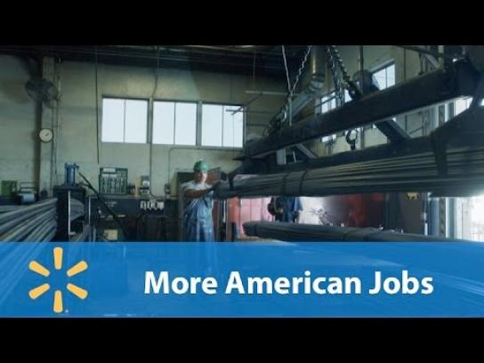 Walmart Film Ad - More american jobs