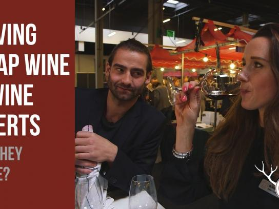 LifeHunters Experiential Ad - Wine experts fooled by cheap wine