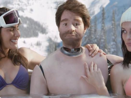 Old Spice Film Ad -  Hot tub