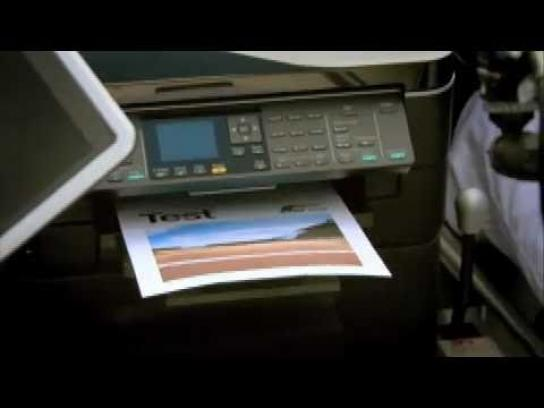 Epson Film Ad -  Epson Printer vs Race Car