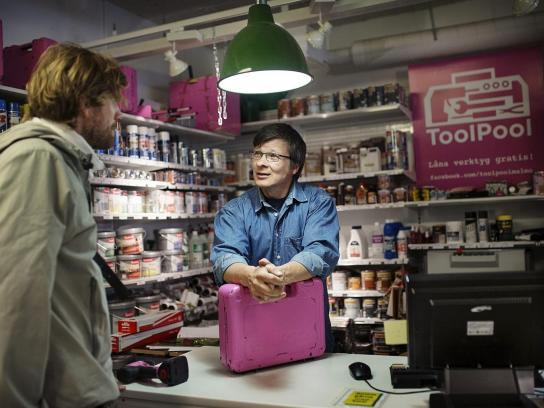 Malmö Hardware Store Digital Ad -  ToolPool