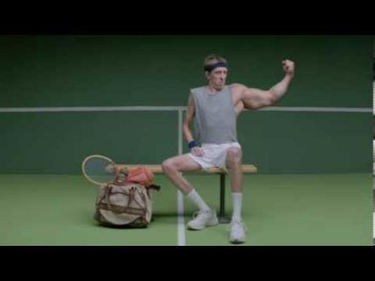 United States Tennis Association Digital Ad -  Tennis makes you stronger