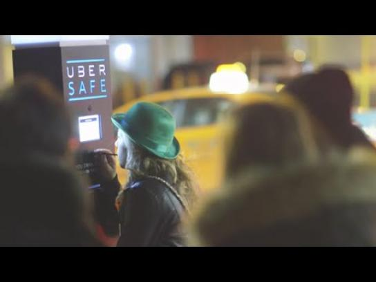 Uber Ambient Ad -  Uber Safe Breathalyzer
