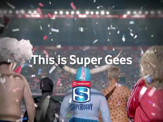 Vodacom Film Ad -  Super Rugby Supergees