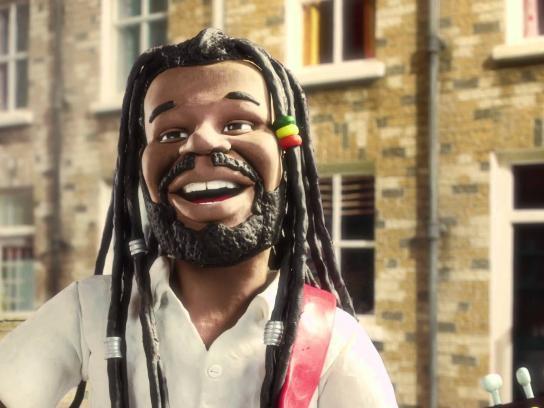 Reggae Reggae Sauce Film Ad -  Levi Roots