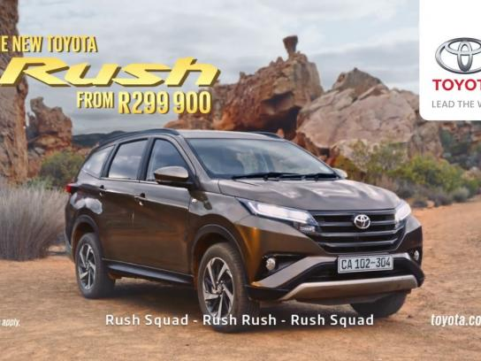 Toyota Film Ad - Introducing the new Toyota Rush