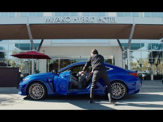 Lexus Digital Ad -  V-LCRO Technology