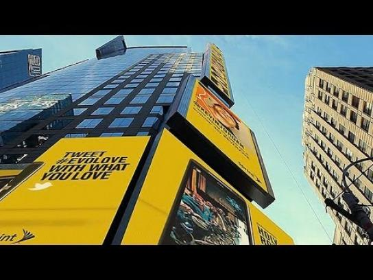 Sprint Outdoor Ad -  Unlimited Love Billboard