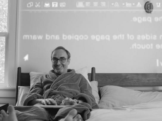 Xerox Content Ad - Pulling Back the Covers on Gary Shteyngart's Writing Process