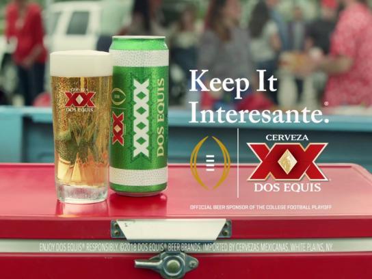 Dos Equis Film Ad - Cerveza Express