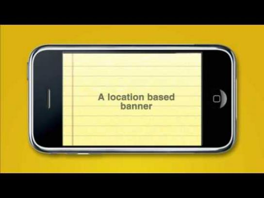 Yellow Pages Digital Ad -  Location Based Banner
