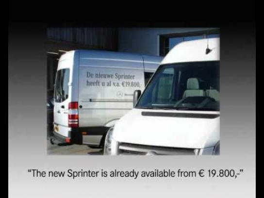 Mercedes Digital Ad -  Online Guerrilla
