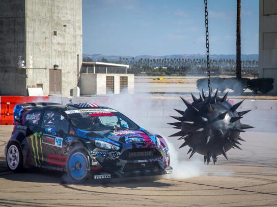 Need for speed Digital Ad -  Ken Block's Gymkhana Six - Ultimate Gymkhana Grid Course