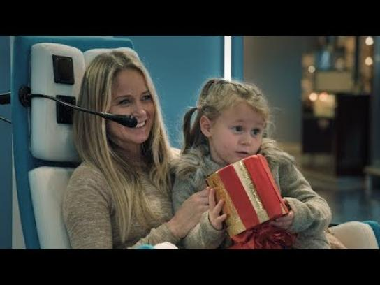 KLM Experiential Ad - Connecting Seats