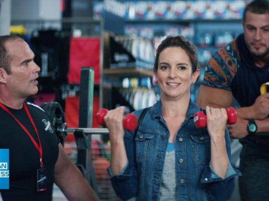 American Express Film Ad -  Tina Fey's guide to workout gear