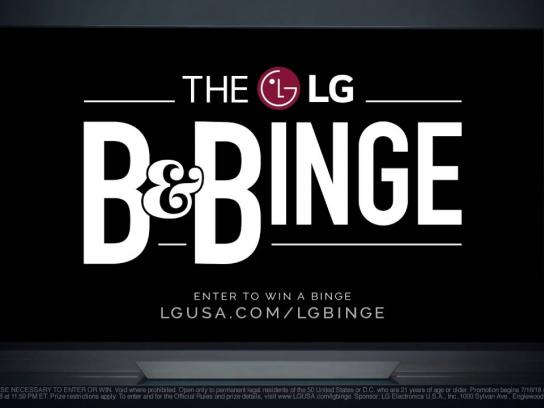 LG Film Ad - Introducing the LG B&Binge - The Ultimate Binge-Watching Experience