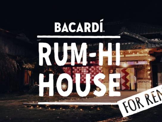 Bacardi Outdoor Ad - Rum-Hi House for rent