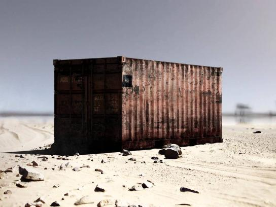Reporters Without Borders Digital Ad -  The shipping container
