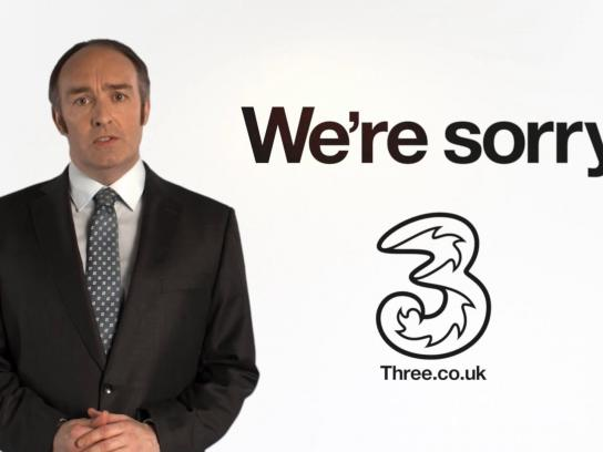 Three Film Ad -  We're sorry