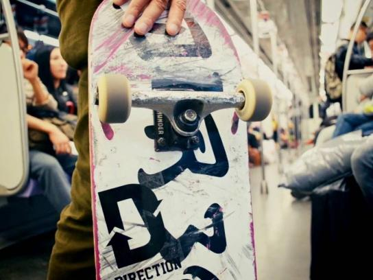 Direction Skateboards Digital Ad - Free ride