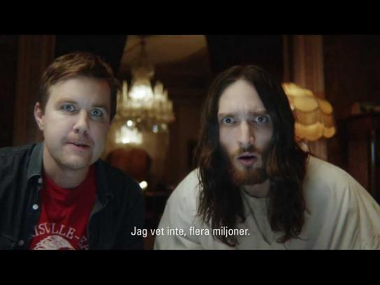Unicef Film Ad -  Jesus Goes Online