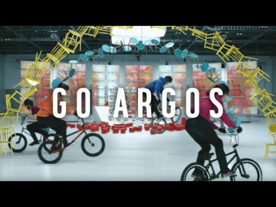 Argos Film Ad -  Get Set Go Argos