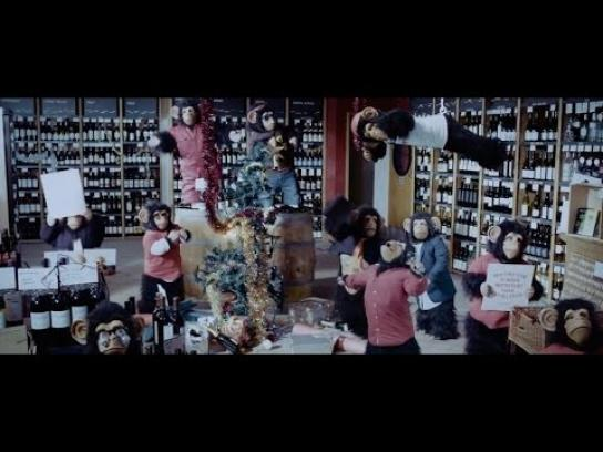 Oddbins Film Ad - 12 Chimps of Christmas