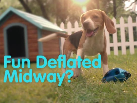 Reliance General Insurance Digital Ad - Dog and the Ball