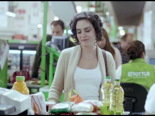 Tottus Film Ad -  Heart attack