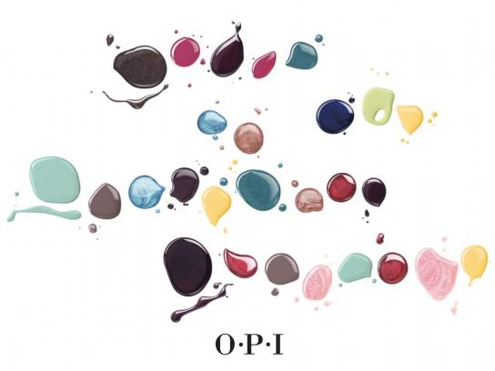 OPI Film Ad -  Story of a drop