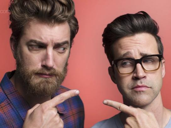 Wix Film Ad - Rhett & Link