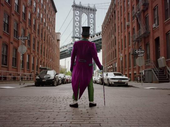 Charlie and the Chocolate Factory Film Ad -  New York City Gets Wonka-fied