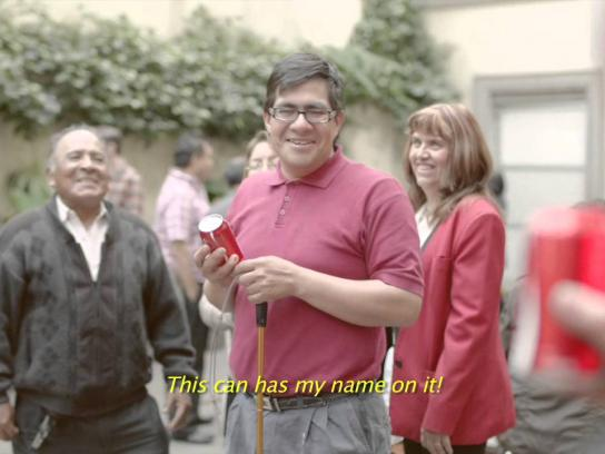 Coca-Cola Direct Ad -  Braille