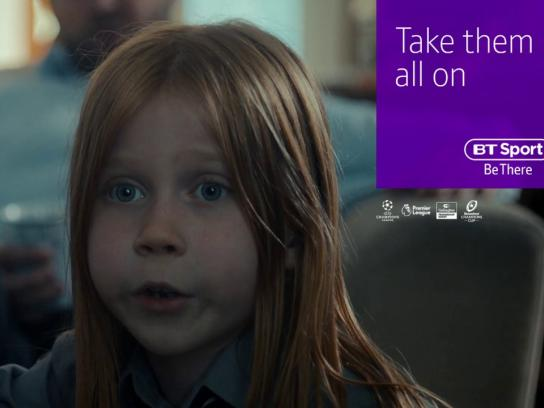 BT Sport Film Ad - Take Them All On