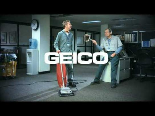 Geico Film Ad -  Unskippable - Cleaning crew